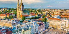 أين تقع عاصمة كرواتيا