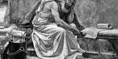 السيرة الذاتية لحياة العالم الفيزيائي والمخترع، مكتشف قانون الطفو أرخميدس
