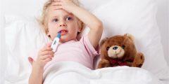 معلومات هامة عن الأمراض الشائعة لدى الأطفال