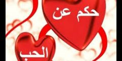 حكم وكلمات وعبارات بمعاني جميلة عن الحب والعشق