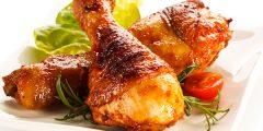 وصفة الدجاج بصلصة العسل