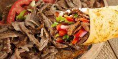 طريقة إعداد شاورما اللحم
