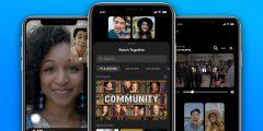 تطلق فيسبوك ميزة المشاهدة الجماعية في مكالمات مسنجر المرئية