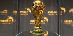 صورة توضح شكل كأس العالم