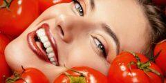 استعمال ماسك الطماطم لوجه مشرق وجميل