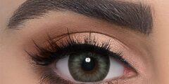 العدسات اللاصقة وتغير لون العيون طبيعيا