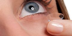 فوائد واضرار عدسات العين