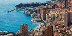 شاطئ الريفييرا الفرنسيّ ومدينة موناكو