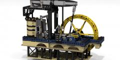 تاريخ اختراع المحرك البخاري