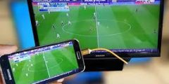 كيفية تواصل الجوال على التلفزيون…كيفية ربط الهاتف بالتلفاز بدون كابل