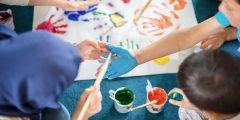استخدام الفن في العلاج وانواعه