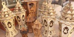 فانوس رمضان بالخشب إصنع فانوسك