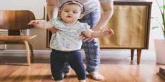 متى يبدا الطفل بالمشي واهم اشياء تساعد على مشي الاطفال