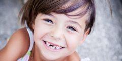اسباب سقوط اسنان الاطفال