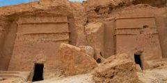 مغارات شعيب في منطقة تبوك هي حضارة
