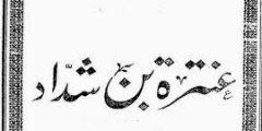 معلومات عن عنترة بن شداد الفارس العربي