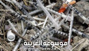 كيف يتم التخلص من النفايات الطبية؟