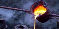 عملية الانصهار لبعض المواد الصلبة